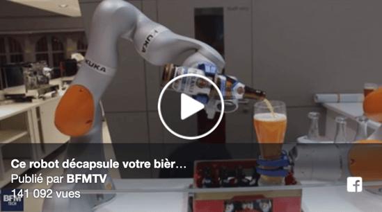 Robot Decapsuleur KUKA