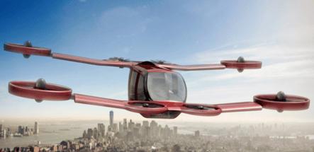 Salon du Bourget 2019 - Mini Bee de Technoplane - Crédit Technoplane