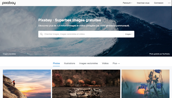 Site Pixabay